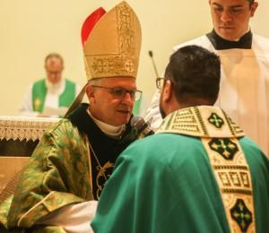 Frei Gilson Nunes, OFMConv, toma posse na Paróquia São Maximiliano Kolbe em Mogi das Cruzes