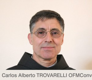 Frei Carlos Trovarelli é eleito o 120º Sucessor de São Francisco