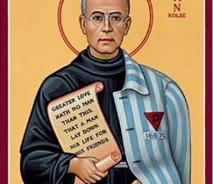 Momento de oração - Natividade de São Maximiliano Kolbe (08 DE JANEIRO)