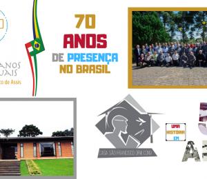 70 anos de presença do Frades Menores Conventuais no Brasil, e 50 anos de Casa São Francisco